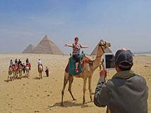 Day 02: Tour to Pyramids of Giza, Sakkara & Memphis